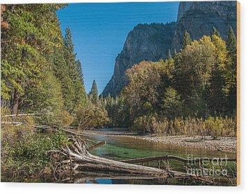 Kings River 1-7807 Wood Print