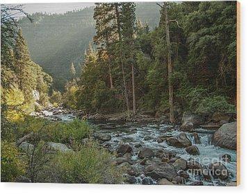 Kings River 1-7824 Wood Print