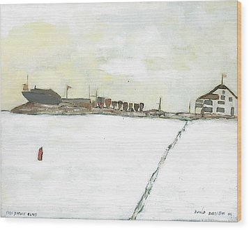 Kingston Yacht Club Wood Print