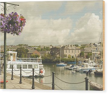 Wood Print featuring the photograph Kinsale Harbor by Winifred Butler