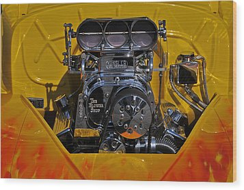 Kinsler Fuel Injection Wood Print by Mike Martin