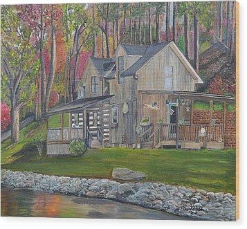 Kirkner Cabin Wood Print