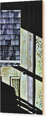 Kitchen Door At Alice Brock's Wood Print by Mike McCool