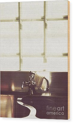Kitchen Sink Wood Print by Margie Hurwich
