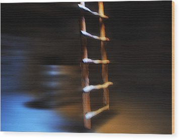 Kiva Wood Print