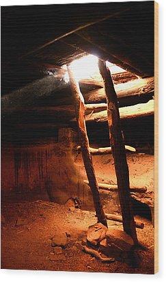 Kiva Ladder Wood Print