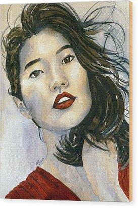 Kiyomi Wood Print