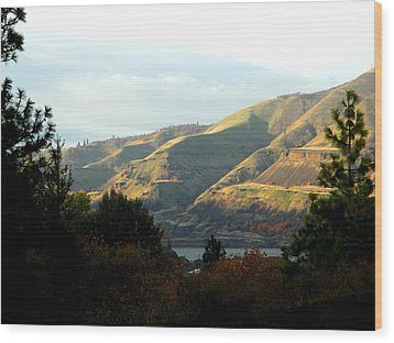 Klickitat Autumn Wood Print