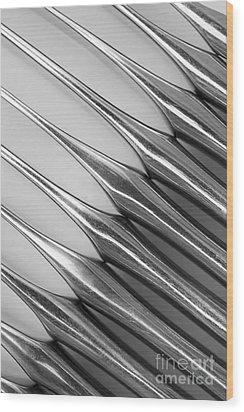 Knives I Wood Print by Natalie Kinnear