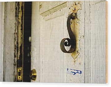 Knock Knock Wood Print