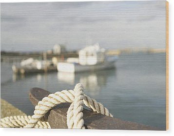 Knot Going Far Wood Print by Eugene Bergeron