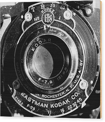 Kodak Brownie 2 Wood Print