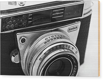 Kodak Retina Camera Wood Print by John Rizzuto
