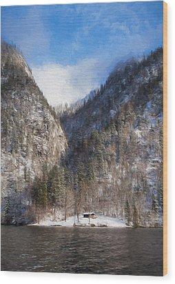Koenigsee Wood Print
