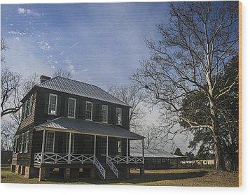 Koger House Wood Print by Steven  Taylor