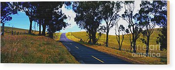 Wood Print featuring the photograph Kohala Mountain Road  Big Island Hawaii  by Tom Jelen