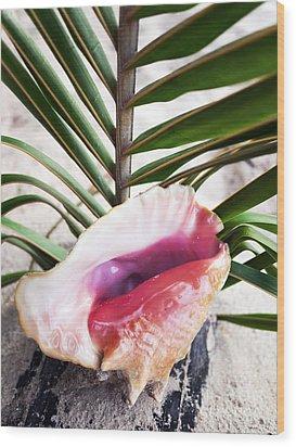 Konk Wood Print by John Rizzuto