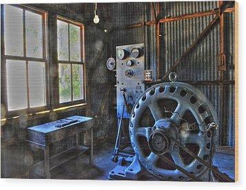 Koreshan State Park Generator 2 Wood Print