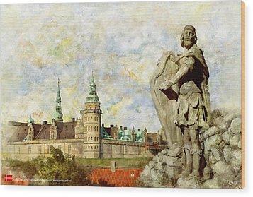 Kronborg Castle Wood Print by Catf
