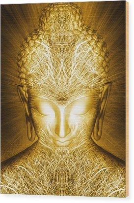 Kundalini Awakening Wood Print by Jalai Lama