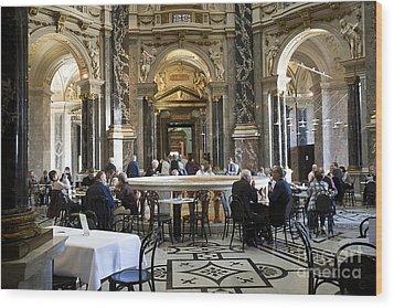 Kunsthistorische Museum Cafe II Wood Print