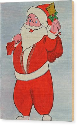Kurdish Santa Clause  Wood Print by Magdalena Frohnsdorff