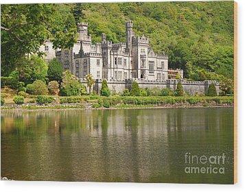 Kylemore Abbey 2 Wood Print by Mary Carol Story