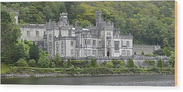 Kylemore Abbey Wood Print by Mike McGlothlen
