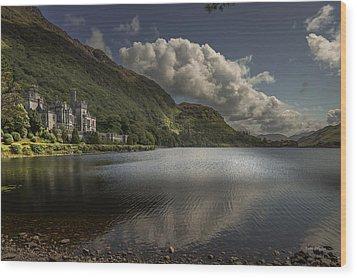 Kylemore Abbey--- Ireland Wood Print by Tim Bryan