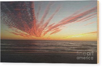 Kyra's Sunset Wood Print