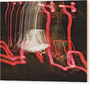 La-405 Waterfall Wood Print