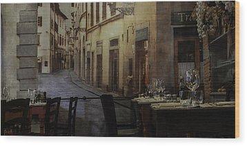 La Cippolla Rosa Wood Print