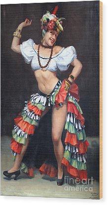 La Conga Lily Wood Print