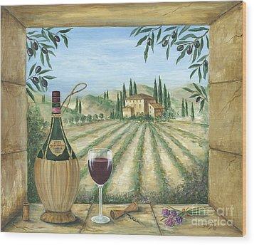 La Dolce Vita Wood Print by Marilyn Dunlap