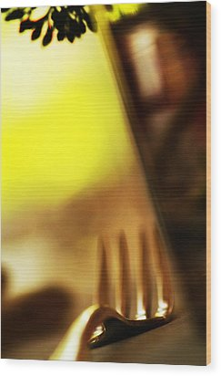 Wood Print featuring the photograph La Fourchette by Selke Boris