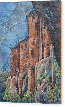 La Rocca Citta Lg Italy Wood Print