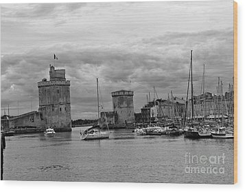 Wood Print featuring the photograph La Rochelle by Cendrine Marrouat