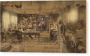 Wood Print featuring the photograph Labor Of Love by Ron Crabb