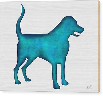 Wood Print featuring the painting Labrador Retriever by Laura Bell