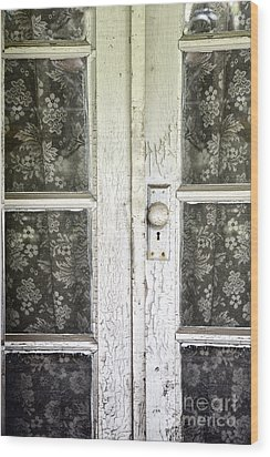 Lace Curtains Wood Print by Margie Hurwich