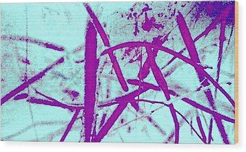 Ladder Wood Print by Dorothy Rafferty