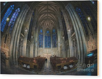 Lady Chapel At St Patrick's Catheral Wood Print by Jerry Fornarotto