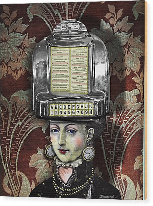 Lady Wurlitzer Wood Print by Larry Butterworth