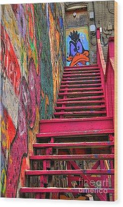 Laffy Daffy Wood Print by Anthony Wilkening