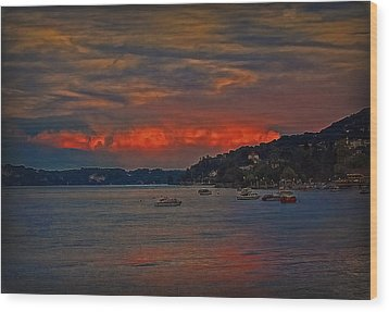 Wood Print featuring the photograph Lago Maggiore by Hanny Heim