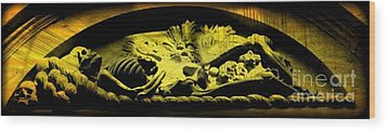 Laid To Rest Wood Print by John Malone