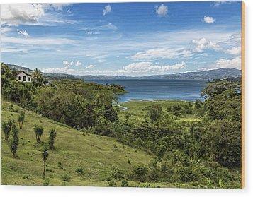Lake Arenal View In Costa Rica Wood Print