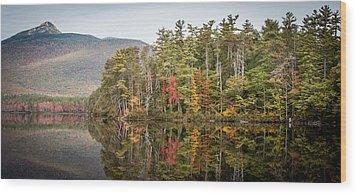 Lake Chocorua Reflection Wood Print
