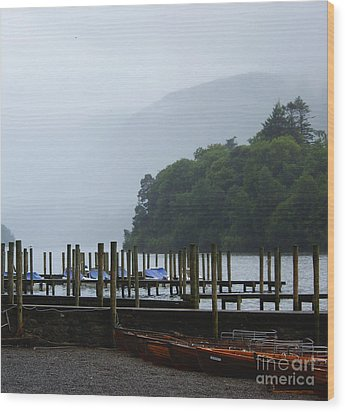 Lake District For A Reason Wood Print by Malcolm Suttle