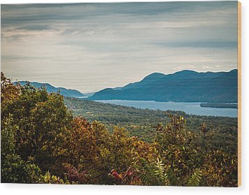 Lake George Wood Print